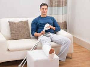 broken leg cast | thunder basin orthopaedics